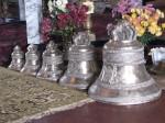 Новые колокола храма