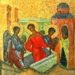 Ангелы беседуют с вмч. Димитрием о судьбе Фессалоники.