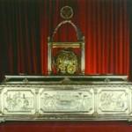 Рака с мощами вмч. Димитрия в его базилике в Фессалонике