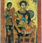 Вмч. Димитрий и мч. Нестор Солунские.