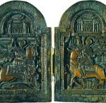 Великомученики Георгий Победоносец и Димит-рий Солунский.