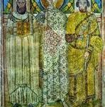 Вмч. Димитрий с префектом Леонтием и архиеп. Иоанном.