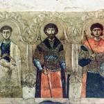 икона Апостол Филипп святые Феодор и Димитрий