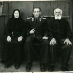 о. диакон Моисей Маркевич с матушкой Анной Денисовной и сыном