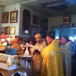 Праздничное богослужение, с. Царивка