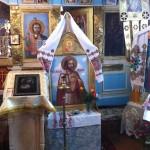 храмовая икона св. благоверного князя Александра Невского